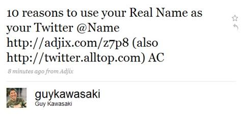 Promocionando Alltop en Twitter
