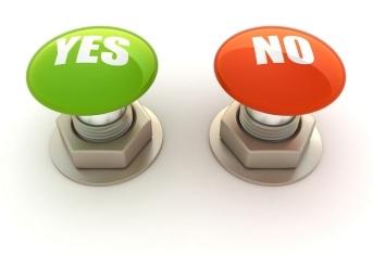 """¿Digo """"sí"""" o digo """"no""""?"""